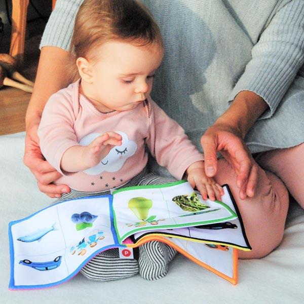 leer cuento para bebés