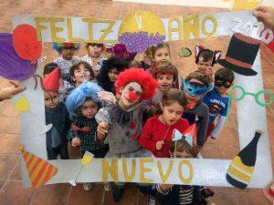 fiesta de fin de año para niños