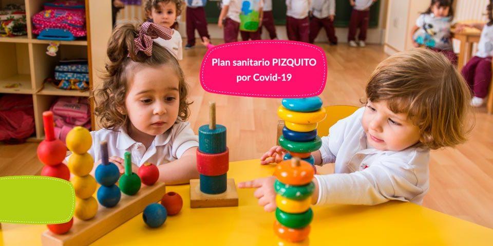 Plan sanitario por covid-19 para los niños de Pizquito