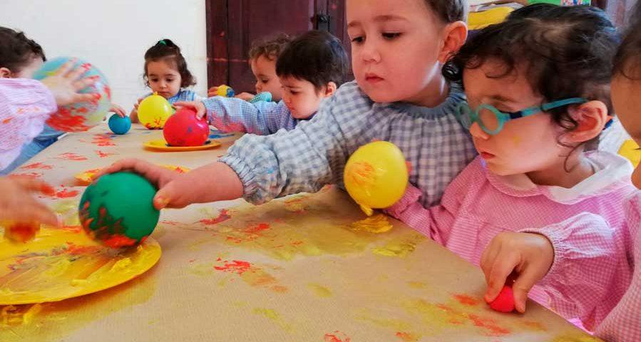 actividades-con-pintura para niños